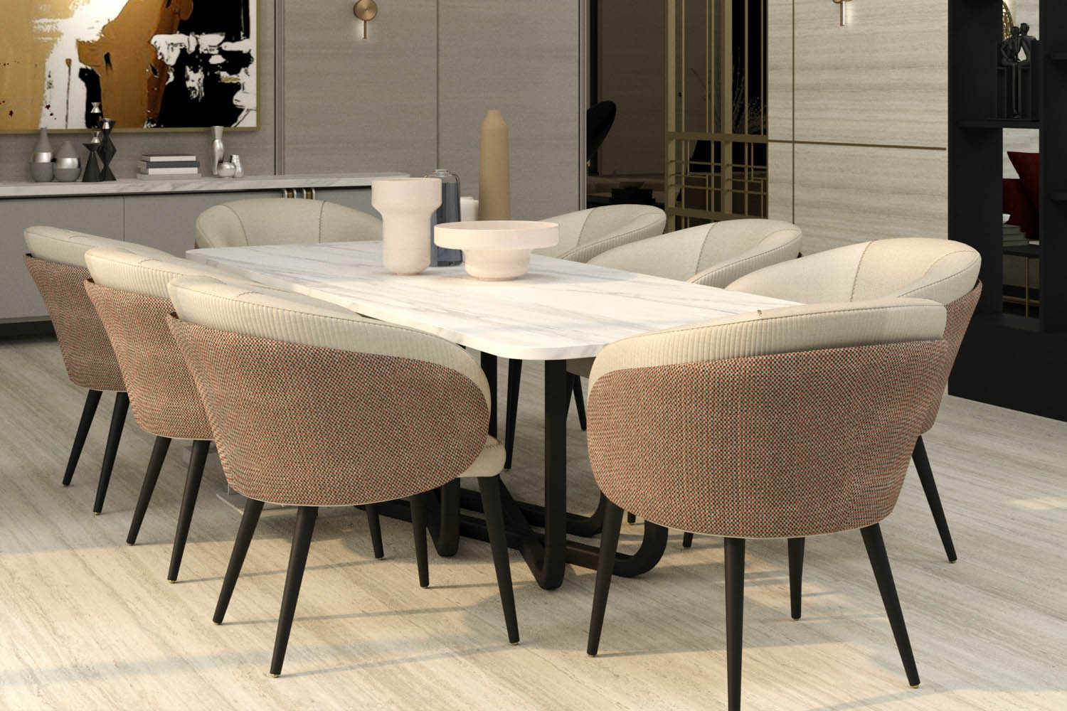 Contemporary style - dining room design